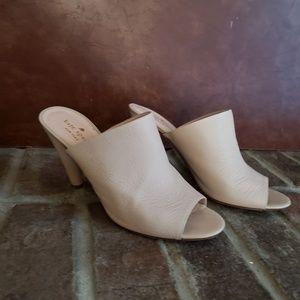 Kate Spade Bova Heel Peep Toe Mules size 9